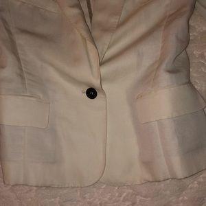 Isabel Marant Jackets & Coats - ISABEL MARANT CREME TAN ONE BUTTON BLAZER